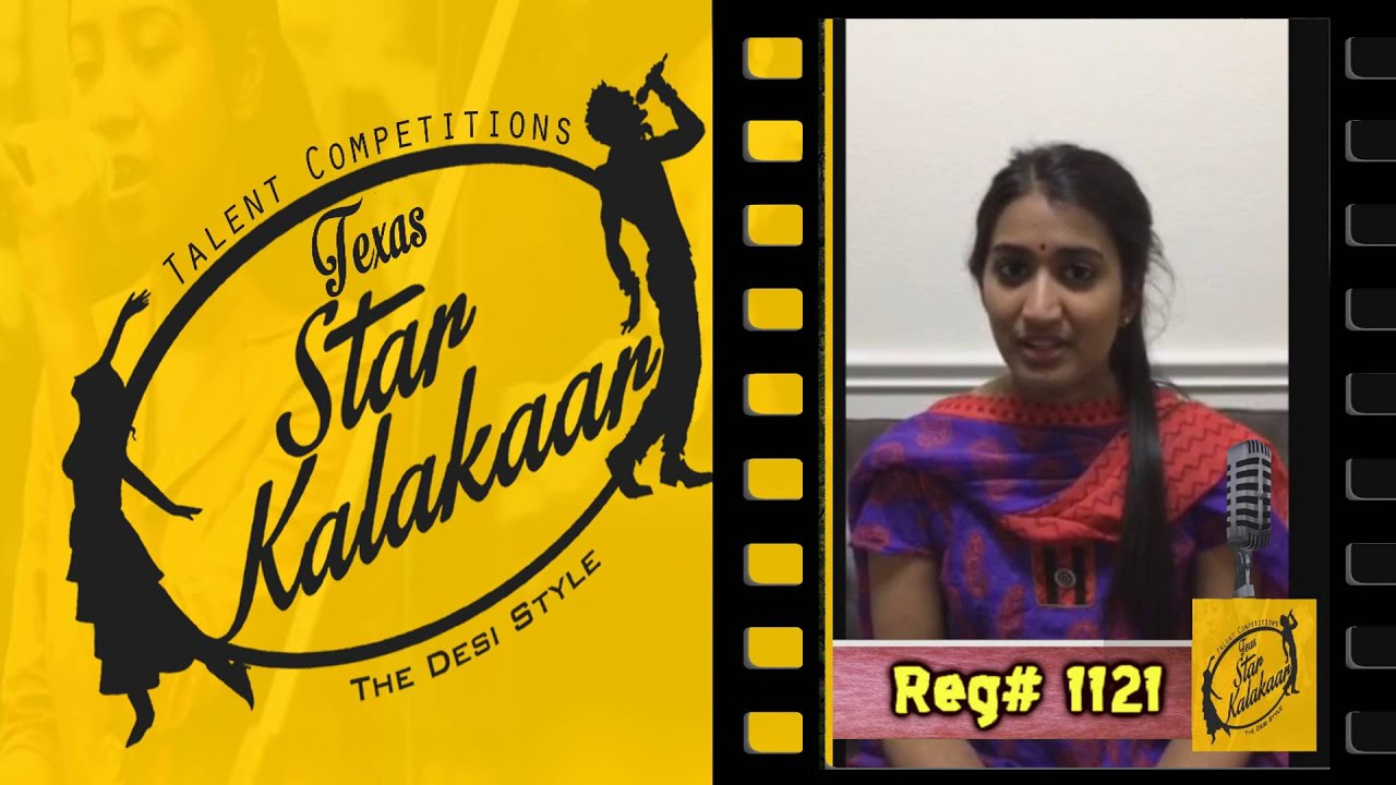 Texas Star Kalakaar 2016 - Registration No #1121