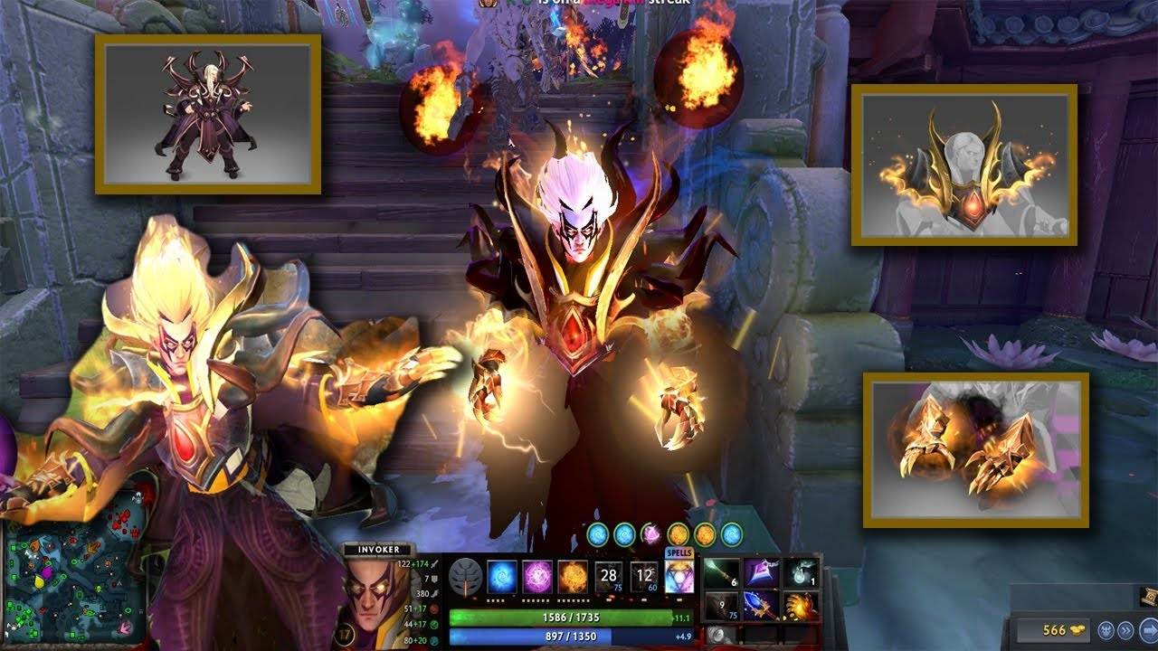 Invoker Mix Set Magus Accord Infused Mantle Of The