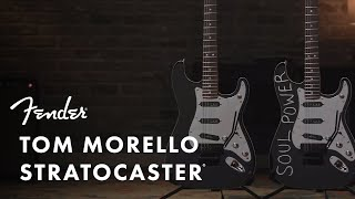 "Tom Morello ""Soul Power"" Stratocaster Ft. Christian Paul Meadows | Artist Signature Series | Fender"