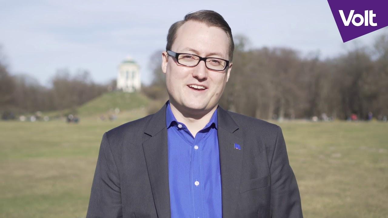 YouTube: München wähle eine neue Politik – wähle Felix Sproll in den Stadtrat | #VoteVolt