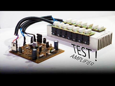 Yamaha Power Amplifier PA-2400 Schematic & PCB - Electronic