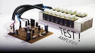 Test Yamaha PA-2400 Super Bass Power Amplifier