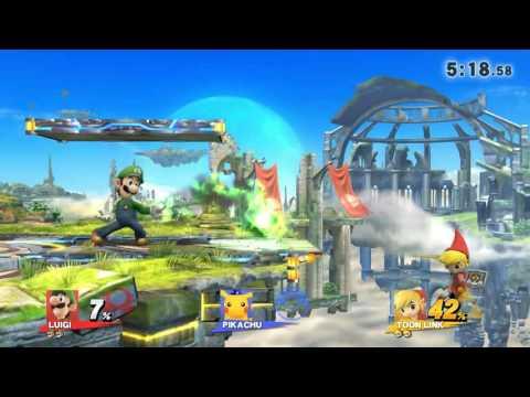 《SSB4》- Online w/ friends: Mexicutionerrr (Luigi) vs Alejandro (Toon Link)