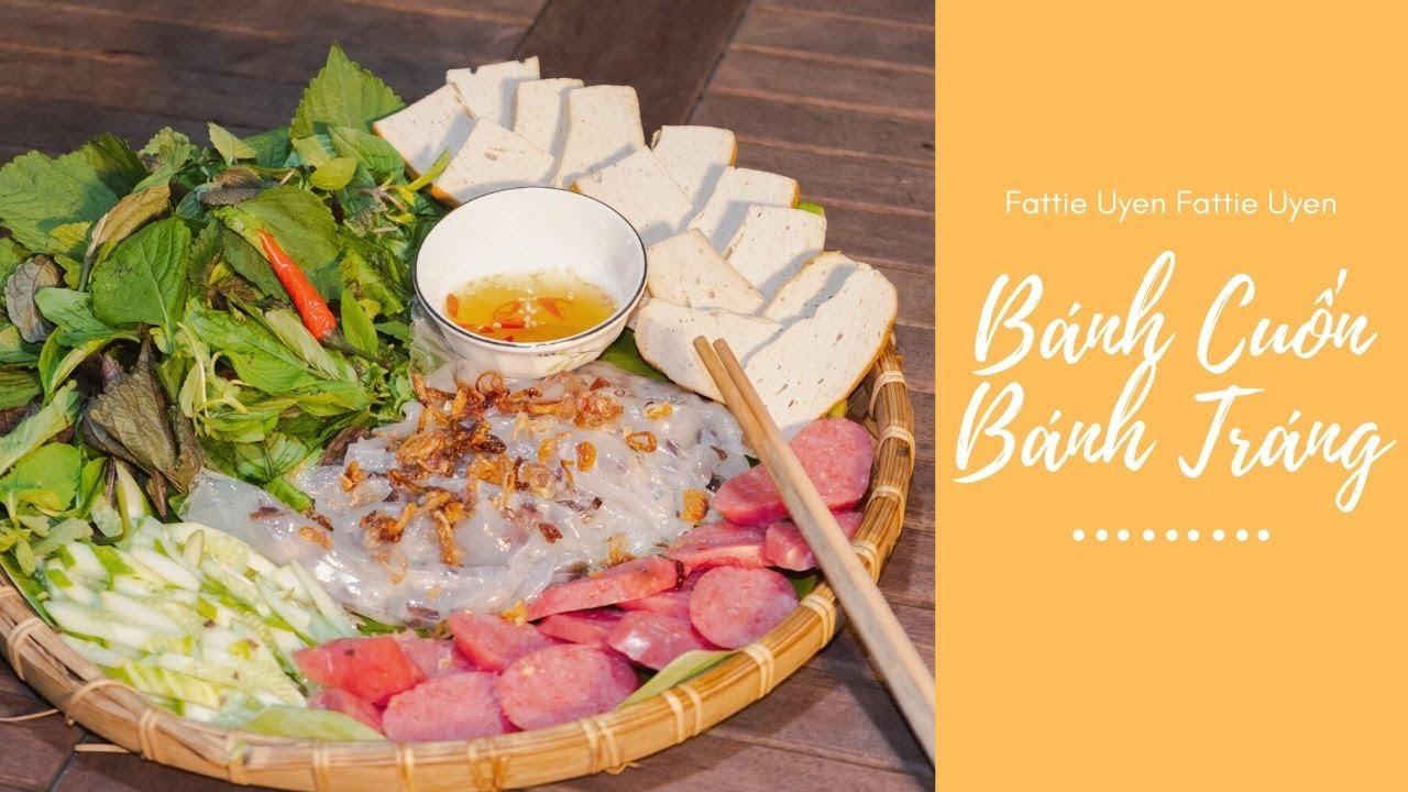 [LDCC] #2: Làm một mẹt bánh cuốn hông nah | VIETNAMESE STEAMED RICE ROLLS WITH RICE PAPERS