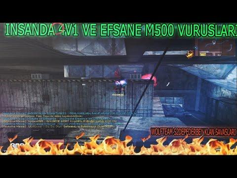 İNSANDA 4V1 VE EFSANE M500'LER !! WOLFTEAM S2DEPEDERBEY S2 YIKIM KLAN SAVAŞLARI