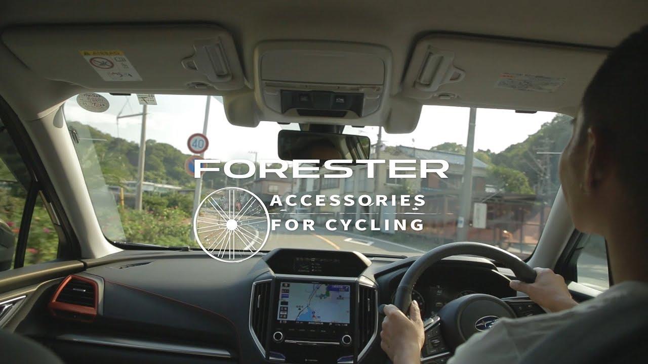 フォレスター 趣味人の自動車えらび (サイクリング編)