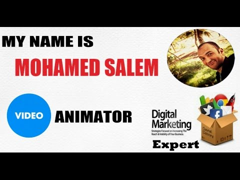 Mohamed Salem Video Animation Artist