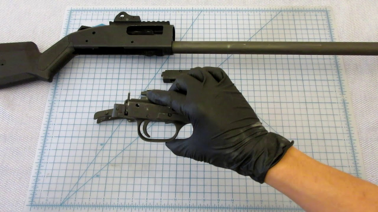 Disassembly of the Mossberg 590A1