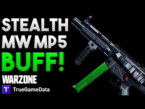 Huge Stealth Buff to MW MP5 in Warzone!!