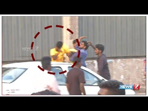 CSK ரசிகர்கள் மீது போராட்டக்காரர்கள் சரமாரி தாக்குதல் | IPL Protest | CSK