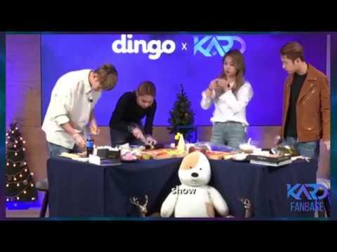 [171129][Eng] KARD 's Facebook Live with Dingo K-POP