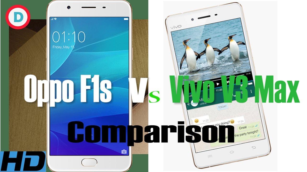 Download Oppo F1s vs Vivo V3 Max Comparison | First Impression | Camera | Technical Specifications | Battery
