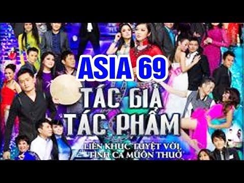 """Fullshow ASIA 69 """"Tác Giả Tác Phẩm """" - Liveshow Hải Ngoại Băng Tâm, Tâm Đoan, Hà Thanh Xuân"""