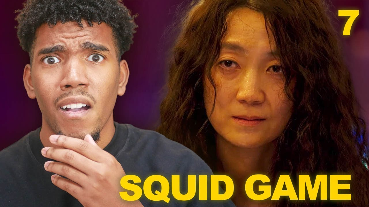 Download THIS SQUID GAME CHALLENGE IS TOO MUCH! *Squid Game Episode 7 Reaction*