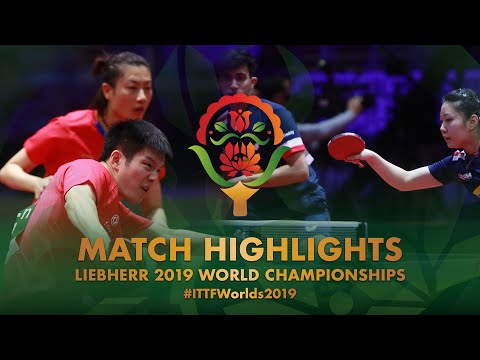 Fan Zhendong/Ding Ning vs Lily Zhang/Kumar Nikhil | 2019 World Championships Highlights (Pre)