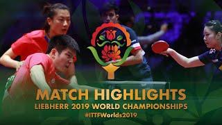 Fan Zhendong/Ding Ning vs Lily Zhang/Kumar Nikhil | 2019 World Championships Highlights (Pre)