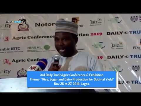 3rd Daily Trust Agric Confab: CEO Welcomes Guests