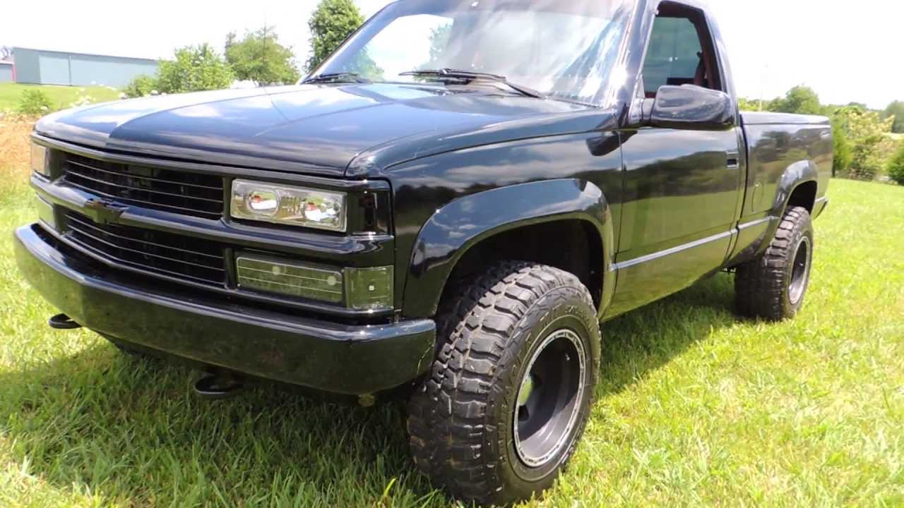 1990 chevy 1500 4x4 - YouTube