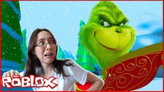 ESCAPE and SAVE the CHRISTMAS OF the EVIL GRINCH IN ROBLOX-NandaPlay