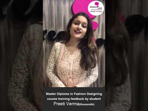 Fashion Designing Master Diploma Course Training Feedback By Student Alambagh Hazratganj Lucknow Youtube