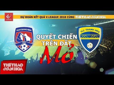 Dự đoán vòng 8 V-League 2018: Quyết chiến trên đất Mỏ