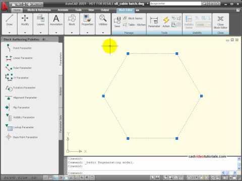 AutoCAD Tutorial - Understanding Block Properties and Settings