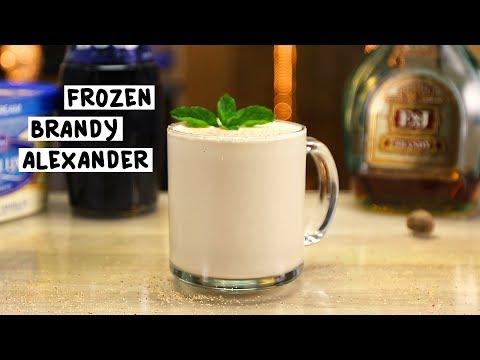 Frozen Brandy Alexander