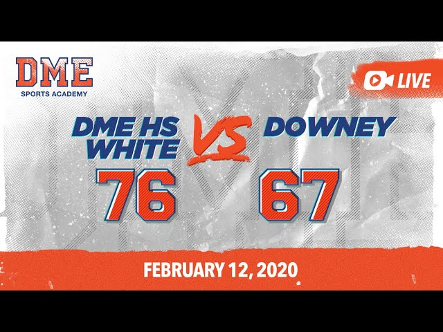 DME HS White vs Downey