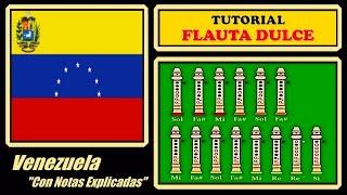 Venezuela en Flauta Dulce