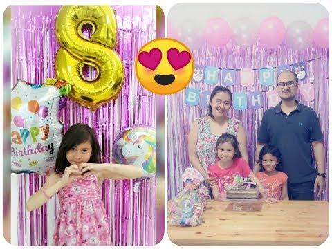 Birthday Surprise Si Miko Ke 8 Tahun