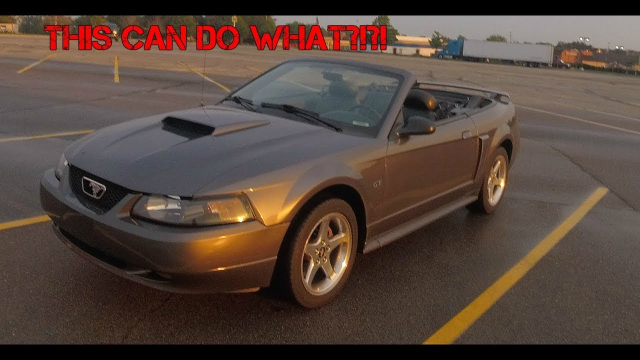 2003 Mustang Gt Convertible Review This Can Do What