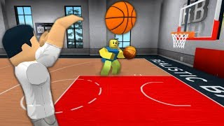 PLAYING BASKETBALL IN ROBLOX | Roblox - RB World 2 BETA
