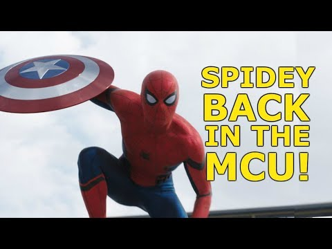 SPIDER-MAN BACK IN THE MCU - NEW Sony & Disney Deal Reported