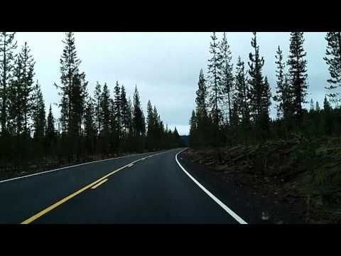 Cascade Lakes Scenic Byway Dashcam Time-Lapse Drive
