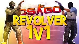 CS:GO REVOLVER 1v1! (CS:GO 1v1 Challenge)