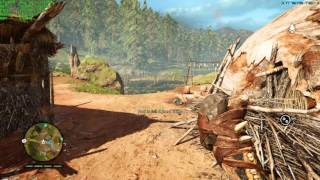 Alienware 17 R3 - Far Cry Primal Gameplay, DX11, 60Fps