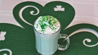 Mint White Hot Chocolate – St. Patrick's Day – Lynn's Recipes
