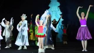Новогоднее шоу-представление Как Снежок в Африку попал