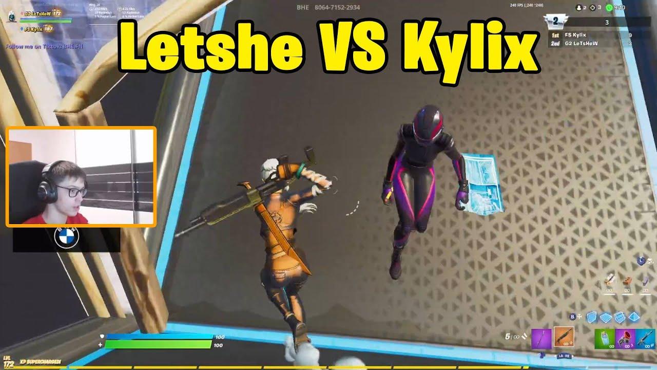 Letshe VS FS Kylix 1v1 Buildfights! - Fortnite 1v1