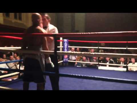 Darren Townley Vs Duane Grimes Professional Boxing 40 second Knockout Plymouth Guildhall inc Slowmo