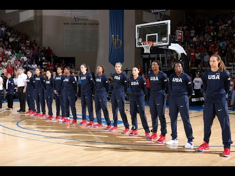 Team USA vs France | Exhibition 07/27/2016