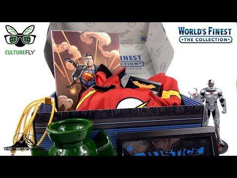 Optibotimus UNBOXING: World's Finest The Collection - JUSTICE LEAGUE
