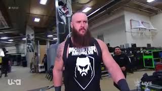 Braun Stromwan After Fired   WWE RAW 15th January 2018
