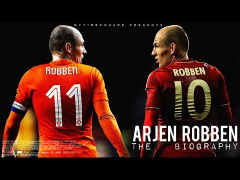 Arjen Robben - Story of a Champion [2002-2015] // HD