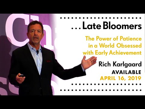 Rich Karlgaard on Late Bloomers and the Power of Patience Mp3