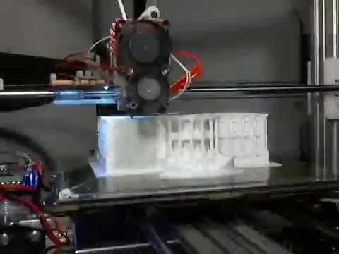 Bukobot 3D printing the White House for Nation of Makers 2016