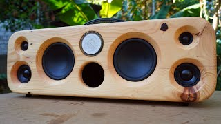 DIY Bluetooth Speaker Using Pallet Wood V2