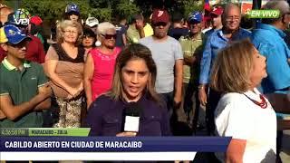 Venezuela - Multitudinaria asistencia a Cabildo Abierto en Maracaibo (Zulia) - VPItv