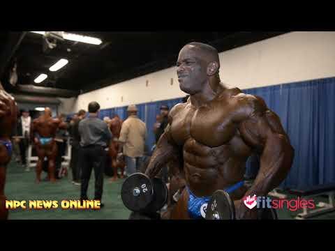 2020 Arnold Classic IFBB Professional League Bodybuilding Backstage Video Pt.2