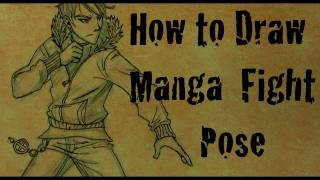 How To Draw Manga Action Pose